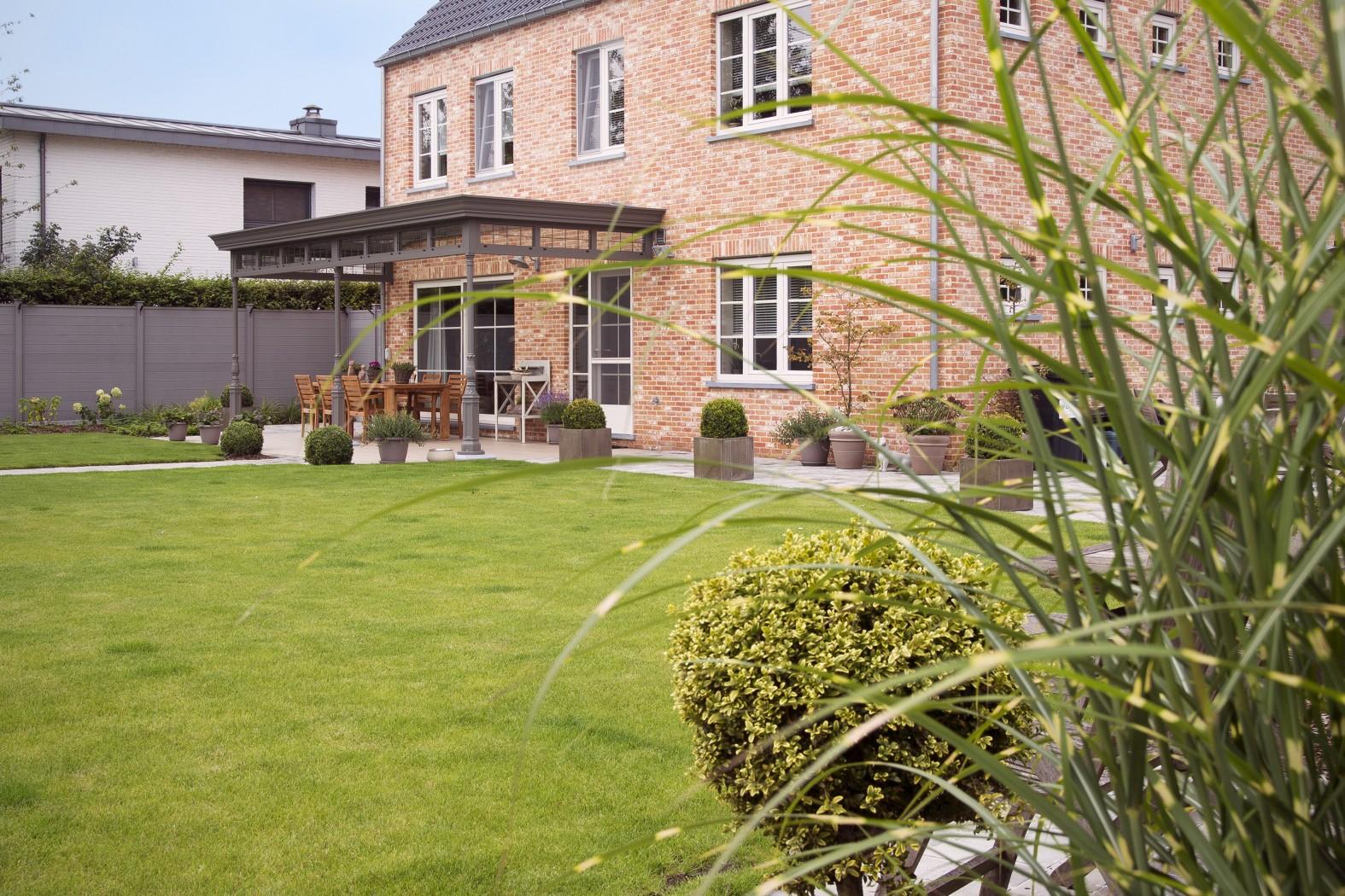 Luxe exclusieve veranda/terrasoverkapping op maat geproduceerd