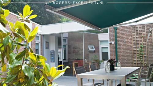 Slimline schuifpui geplaatst in Nijmegen