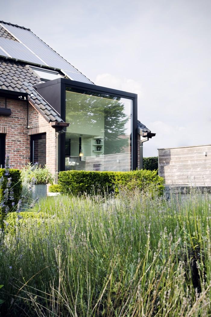 Glazen wand bogers excellent for Glazen uitbouw